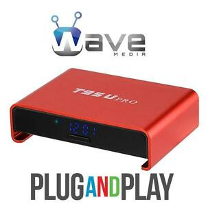 ATLANTIC ANDROIDS & WAVE MEDIA® ANDROID TV BOX *UNLIMITED ON DEMAND *RATED #1