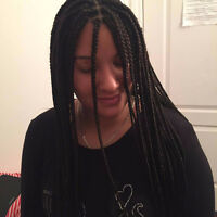 BEAUTIFUL AND GOOD QUALITY BOX BRAID AND WEAVE FOR AN AFFORDABLE
