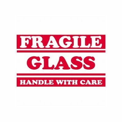 Box Packaging Fragile - Glass Handle With Care Labels 3x5 500roll 1 Roll