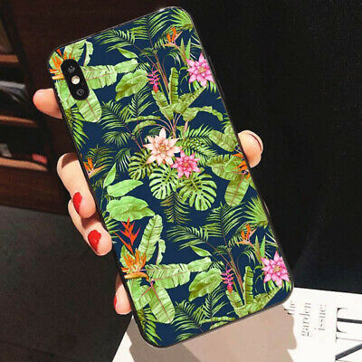 Leaf Phone Cover - Leaf Flower Hard Phone Case Cover For iPhone 7 8 Samsung Huawei Mate 20 Lite P10