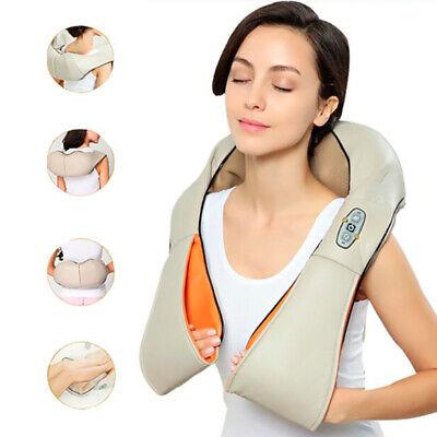 Masajeador Electrico Cervical de Cuello Espalda con Calor Shiatsu