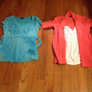 Ladies Size Small and Medium Tops