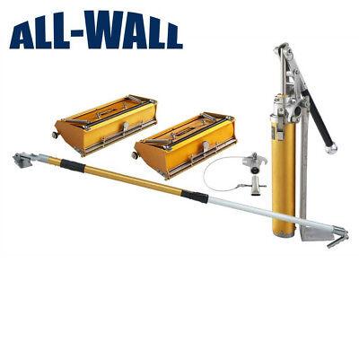 Tapetech Basic Drywall 1012 Flat Box Set With Extender Handle Pump Filler