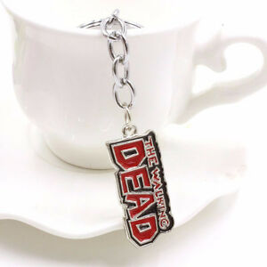 The Walking Dead Red Keychain Small 13.00
