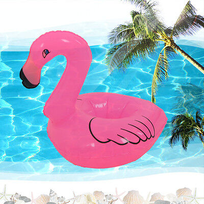Mini Flamingo Floating Inflatable Drink Can Phone Holder Station Stand Pool Toys](Flamingo Drink Holder)