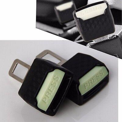 Universal Car Safety Seat Belt Extender Extension 2.1cm Buckle Lock Clip UK New