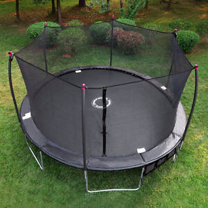 NEW! 17 FT OVAL TRAMPOLINE + ENCLOSURE NET + FREE DELIVERY