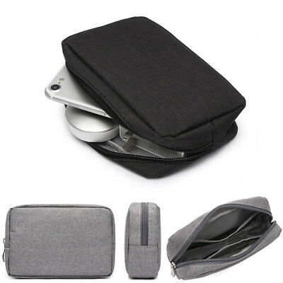 Electronic USB Cable Storage Power Bank Case Bag Hard Drive Disk Accessories Bag