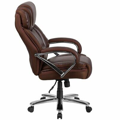 Scranton Co Faux Leather Office Chair In Brown