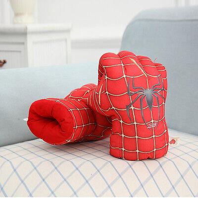 13'' Hulk Smash Hands Plush Gloves Spiderman Performing Props Toys For Kids Gift