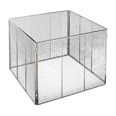 Original Brista Metall Komposter aus Steckmetall feuerverzinkt Metallkomposter