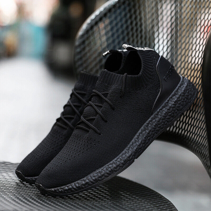 New Fashion Mens Sneakers Breathable Mesh Athletic Casual Running Sport Shoes