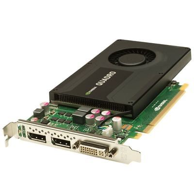 NVIDIA Quadro K2000 2GB GDDR5 Kepler GPU Server / Workstation Graphics Card comprar usado  Enviando para Brazil