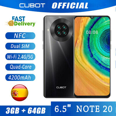6,5'' CUBOT NOTE 20 NFC Android 4G Smartphone 3GB+64GB Teléfonos móviles libres