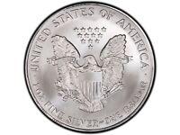 1993 american silver eagle silver coin
