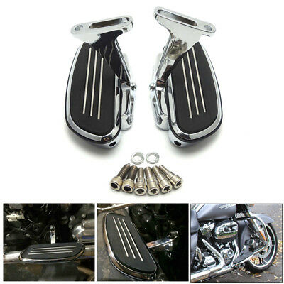 Streamline Passenger Floor board For Harley Touring Road Street Glide 1993-2018