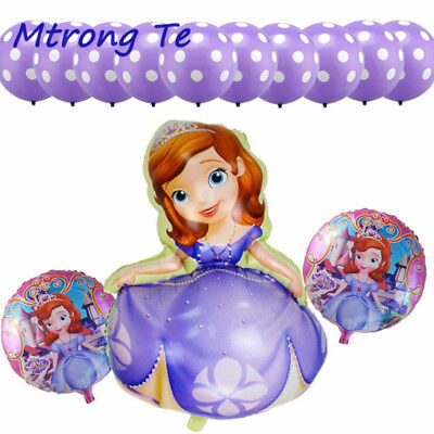 Sofia the First 1st Party sophia Birthday Balloon Disney Princess   - Sofia Balloons