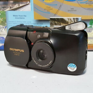 Olympus Stylus Zoom DLX mju 1 I Film Camera ~ MINT CONDITION