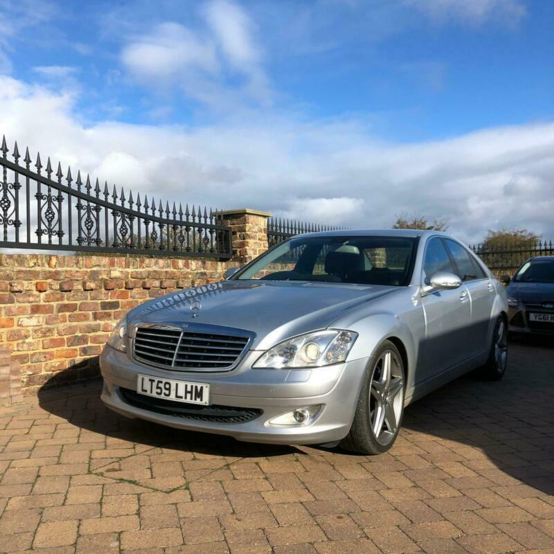 59 Mercedes-Benz S320 CDi 3.0TD 7G-tronic, Full service history, 3prev own, 2key