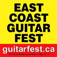 EAST COAST GUITAR FESTIVAL      MAY12-14