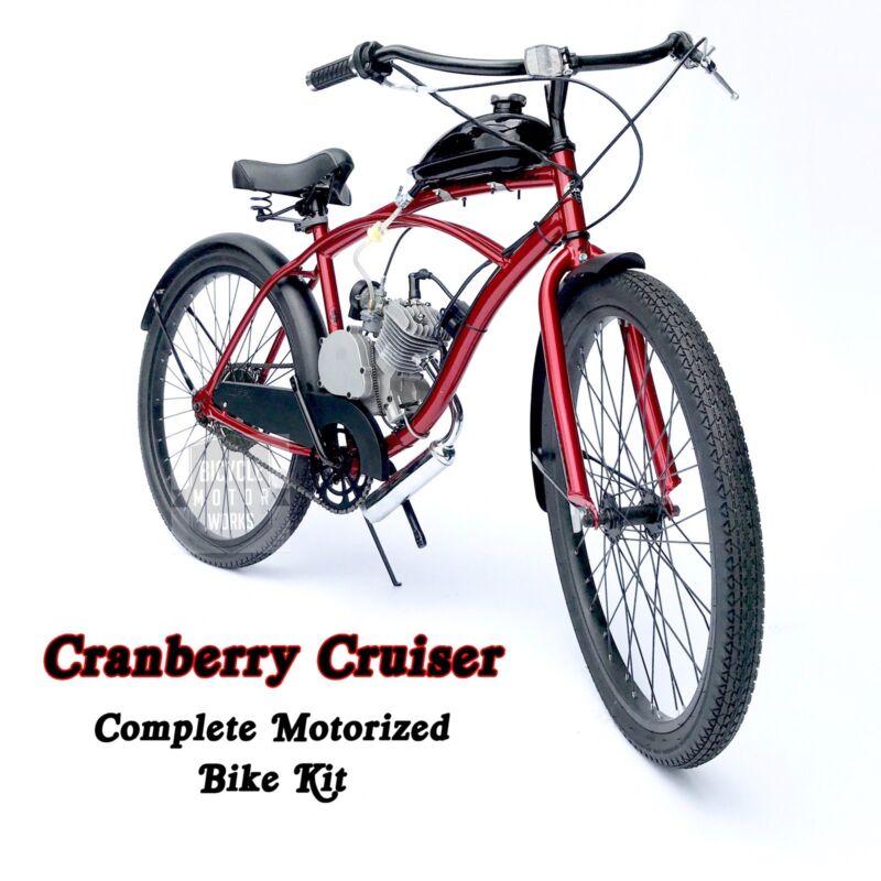 Cranberry Cruiser - Motorized 66cc Engine & Cruiser Bicycle KIT - Build Yourself
