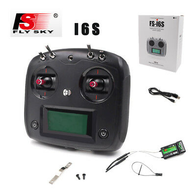 Flysky FS-i6S 2.4G 10CH RC Transmitter with IA6B Receiver for Drone Quadcopter