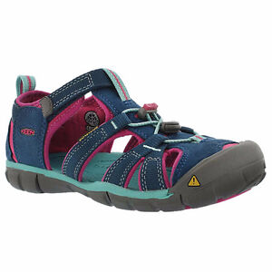 Pink and Blue Keens, Girls size 8