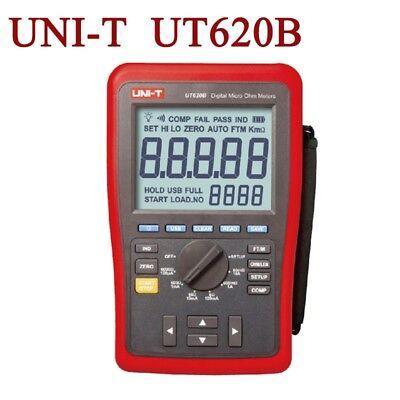 Uni-t Digital Micro Ohm Meter Low Resistance Tester 1u Resolution Ohmmeter Usb