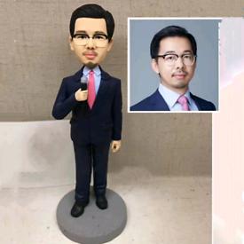 Custom Handmade Your 3D Minime Art Doll let's meeting