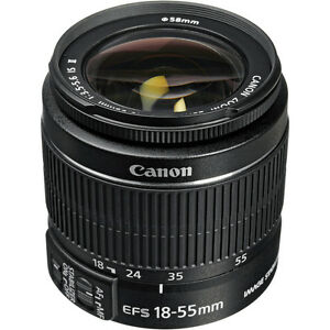 Canon Rebel 18-55mm lens