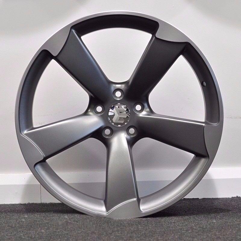 """19"""" TTRS Style Concave Alloy Wheels & Tyres. Suit Audi A4, A5, A6, A7. 5 x 112"""