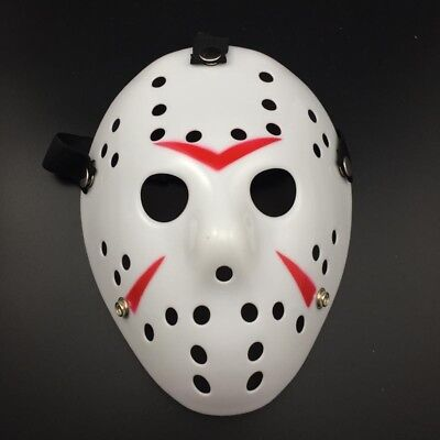 Jason Voorhees Scary Mask prop hockey Halloween Creepy MASK Child&Adult Toys (Scary Hockey Mask)
