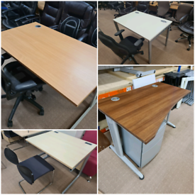 Office furniture chairs desks cabinets