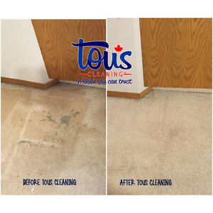 CARPET AND UPHOLSTERY CLEANING | Tous Cleaning Inc. Edmonton Edmonton Area image 4
