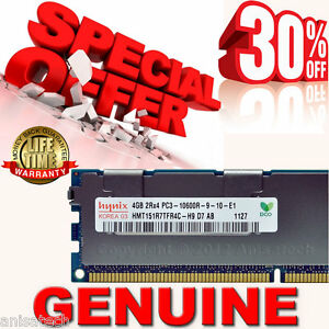 Dell-NN876-4GB-2Rx4-PC3-10600R-DDR3-Memory-PowerEdge-R410-R710-SNPNN876C-4G