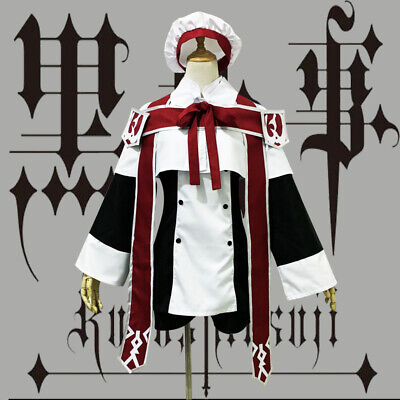 Kuroshitsuji Ciel Black Butler Phantomhive Chor Cosplay Lolita Costume Kostüm