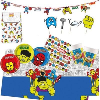 Marvel Avengers Pop Art Party Geschirr Luftballons Dekoration
