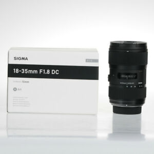 Sigma Interchangeable Camera Lens 18-35mm F1.8 DC For Nikon