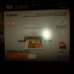 Canon Printer, Scanner
