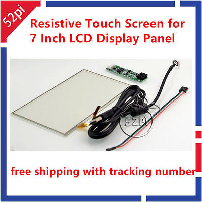 7 Inch Touchscreen Panel Kit For 7 Inch At070tn92 94 Lcd Display Panel
