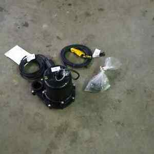 "Brand New 2"" Submersible Electric Water/Sump Pump Kingston Kingston Area image 2"