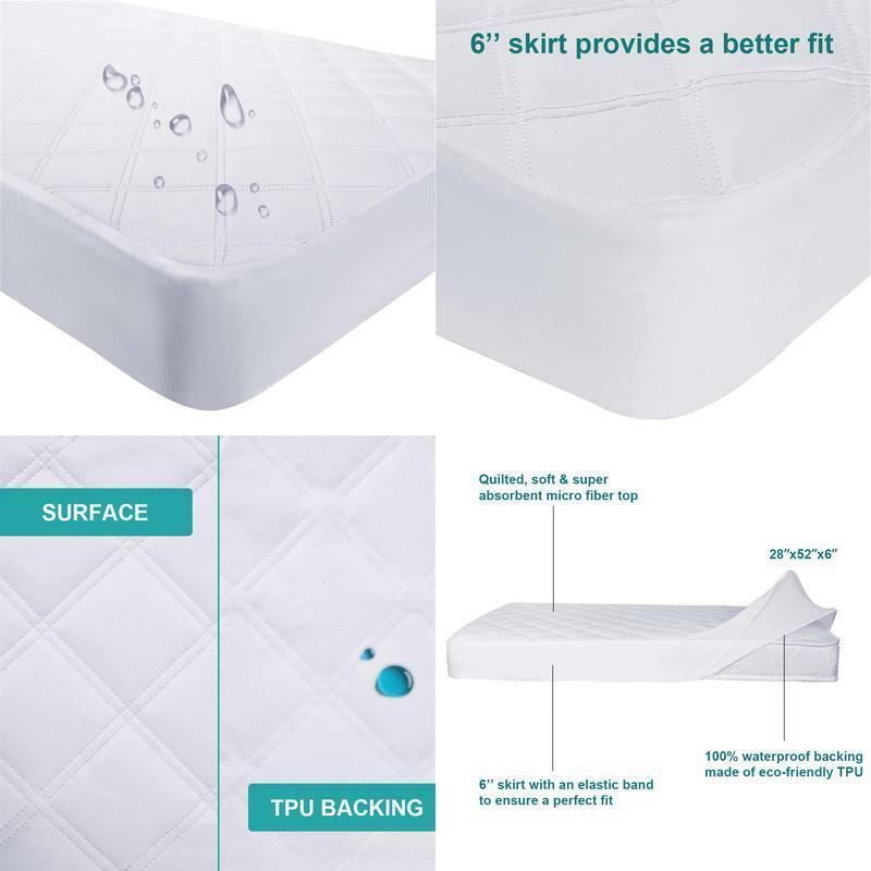 Baby Mat For Playpen Waterproof Hypoallergenic Mattress