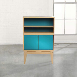 Sauder Soft Modern 2 Shelf Bookcase in Urban Ash