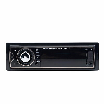Car Audio Stereo In Dash Fm With Mp3 Player USB SD Input AUX Receiver Remote EA on Rummage