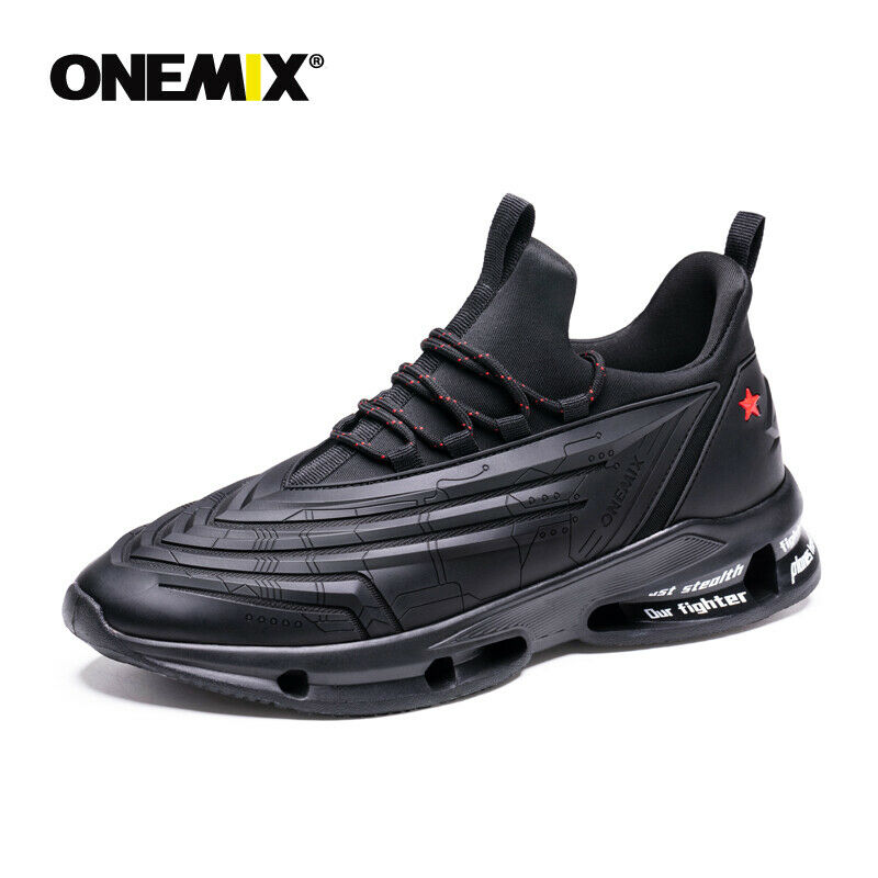 ONEMIX Couple Casual Shoes Breathable Men Running Shoes Ligh