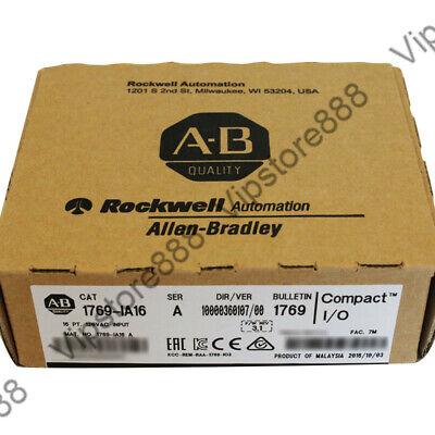 20182019 Us Stock Allen-bradley Compactlogix 16 Pt 120vac Di Module 1769-ia16