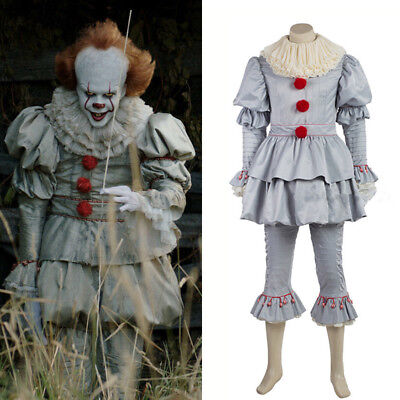 Adult/ Kids Halloween Clown Cosplay Costume Party Outfit