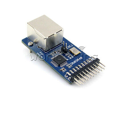 Dp83848 Ethernet Physical Layer Transceiver Control Interface Web Server Module