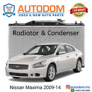 New Condenser and Radiator Nissan Maxima 2009-14
