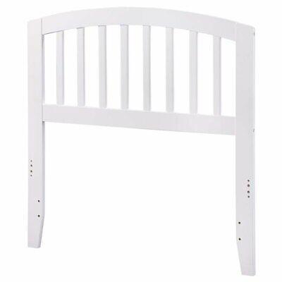 Atlantic Furniture Richmond Twin Spindle Headboard in White